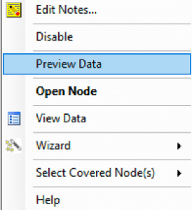 Preview data in Construct