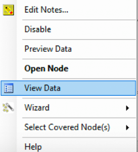 View data in Construct