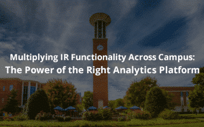 Multiplying IR Functionality Across Campus