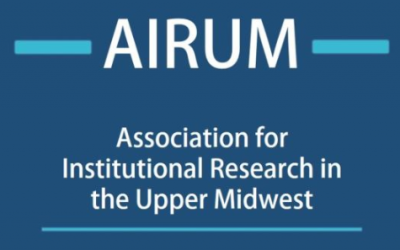 11/1 – 11/2 Association for Institutional Research in the Upper Midwest (AIRUM) Conference