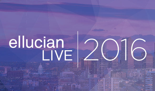How 'bout that Ellucian Live Conference?