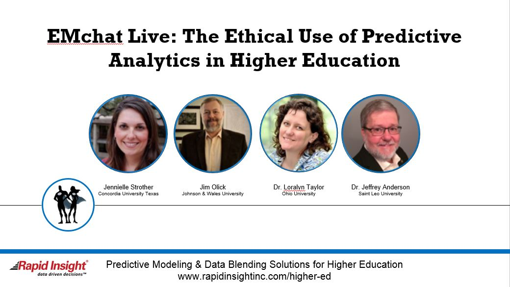 EMchat Live: The Ethical Use of Predictive Analytics in Higher Education