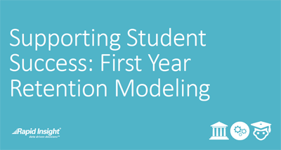 eBook: Supporting Student Success: First Year Retention Modeling