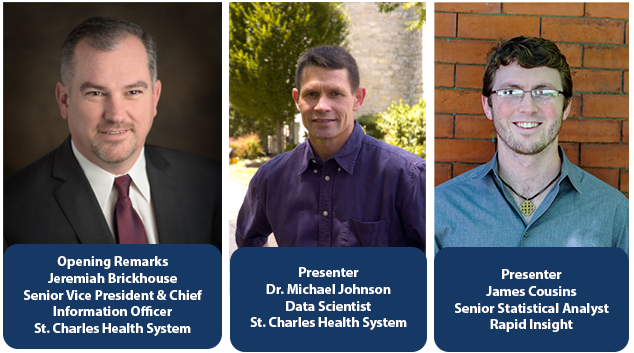 Rapid Insight and St. Charles Health System Team Up to Host Predictive Analytics Workshop
