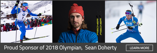 Sean Doherty Olympian Biathlon