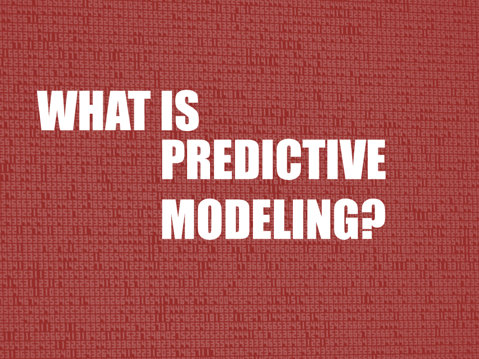 Rapid Insight Creates Predictive Modeling Online Education Series